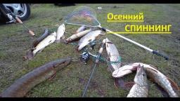 Отличная рыбалка на щуку в октябре 2016
