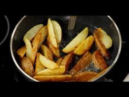 Как правильно жарить картошку по-деревенски - Лазерсон Обед безбрачия
