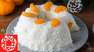 Быстрый Торт Без Выпечки за 15 минут рецепт торта на Новый год 2019 Оксана Пашко