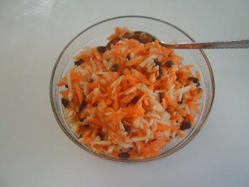 Салат из моркови и яблок | Рецепт приготовления