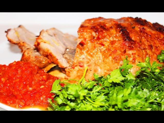 Свинина запеченная в духовке -Видео