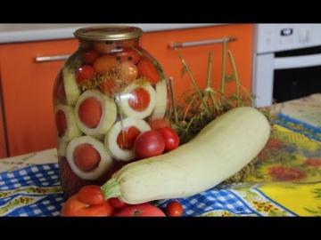 Юлия Минаева Овощное Ассорти На Зиму Оригинально и Очень Вкусно