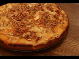 Яблочный пирог с грецкими орехами | Рецепт Юлии Высоцкой