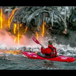 Экстремальный туризм - Огнедышащий вулкан Килауэа на Гавайях