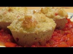 Ирина Хлебникова -  Куриные маффины с овощами и моцареллой |Рецепт
