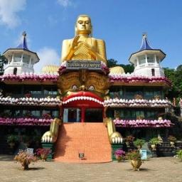 Буддийский храм в Шри Ланке: Золотой храм Дамбулла