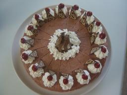 Рецепт Торта с вишней Шоколадно-творожный | Маринкины Творинки