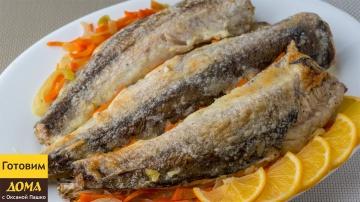 Оксана Пашко -  Хек с овощами запеченный в духовке. Волшебный вкус при минимальных усилиях