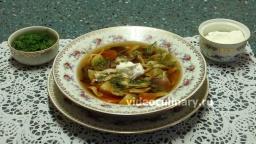 Суп из сушёных грибов - Рецепт Бабушки Эммы