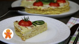 Кабачковый торт   Рецепт