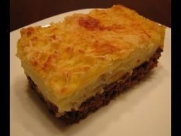 Ирина Хлебникова -  Картофельная запеканка с мясом рецепт