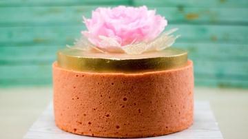 Я ТОРТодел Мой торт на день рождения | Оформление торта японским бисквитом