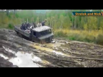Север Бездорожье России Экстремальные И Опасные Дороги Профи 2017