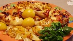 Курица в персиковой глазури - Рецепт Бабушки Эммы