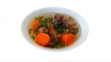 ТАТАРИАХНИ. Суп из парной говядины – грузинская кухня