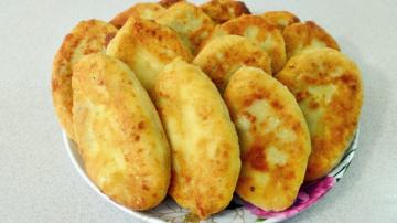 Алена Митрофанова Секрет МЯГКИХ  пирожков на сковороде с картофелем и печенью