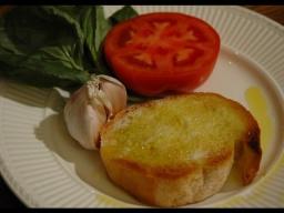 Юлия Высоцкая — Хлеб с помидором