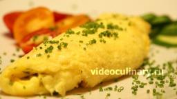 Омлет с сыром и зеленью - Рецепт Бабушки Эммы