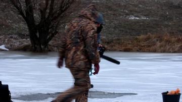 Эксперимент Охота за раками зимой(Дневник рыболова)
