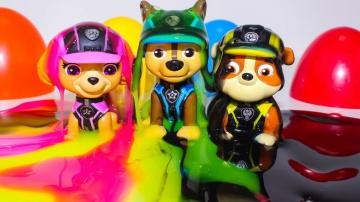 Щенячий патруль новые серии Мультики Киндер Сюрпризы Щенячий патруль Игрушки для детей Paw Patrol