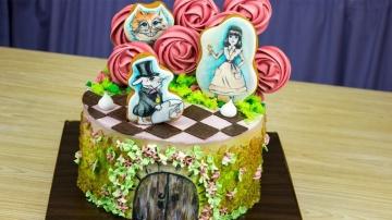 """Я ТОРТодел Бесплатный торт """"Алиса в стране чудес"""".""""Сладкие добрые дела"""" - Я - ТОРТодел!"""