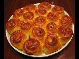 Дрожжевой пирог с шоколадно-ореховой пастой нутелла  Рецепт