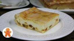 Творожный пирог по-краковски | Рецепт Ирины Хлебниковой