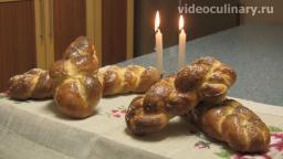 Домашний сдобный хлеб хала - вкусный хлеб от Бабушки Эммы