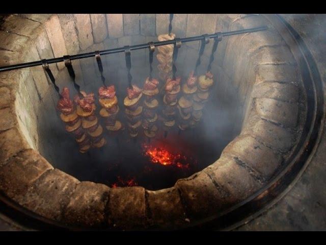 Идеи для дачи своими руками мангалы из кирпича и железа