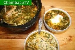 Борщ с крапивой и щавелем |  Видео рецепт от ChambacuTV