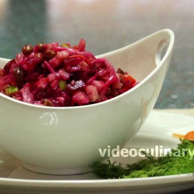 Винегрет овощной |  Рецепт приготовления от Бабушки Эммы