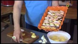 Ханкишиев Сталик: слоеное жаркое из бараньей корейки - Видео рецепт