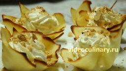 Пирожное Тюльпан  - Рецепт Бабушки Эммы