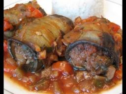 Трубочки из Баклажанов с говядиной и овощами | Рецепт Ирины Хлебниковой