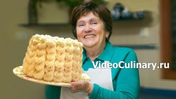 Бисквитный торт Невеста - Рецепт Бабушки Эммы