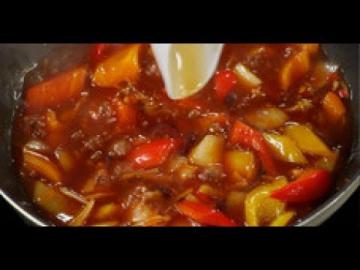 Китайский соус для жареных баклажанов / рецепт от шеф-повара / Илья Лазерсон / Обед безбрачия