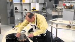 Гарнир из шампиньонов рецепт от шеф-повара / Илья Лазерсон / русская кухня