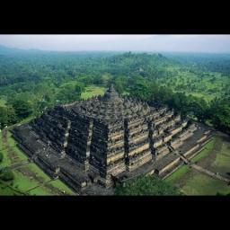 80 чудес света: Храм Борободур: Индонезия остров Ява: Часть 14