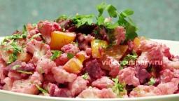 Салат из цветной капусты со свеклой - Рецепт Бабушки Эммы