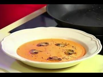 Суп-пюре из моркови + запечённая сёмга на яблочной подушке / Илья Лазерсон / Кулинарный ликбез