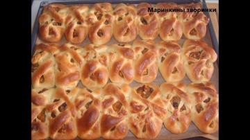Крестики с тыквой | Рецепт Маринкины Творинки