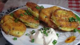Светлана Чернова -  Как приготовить очень вкусные и пышные оладьи с яйцом и зеленым луком