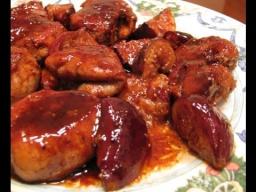 Ирина Хлебникова -  Свиная вырезка с инжиром, медом и бальзамическим уксусом |Рецепт