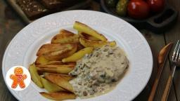 Ирина Хлебникова -  Мясо с Грибами На Сковороде |Рецепт