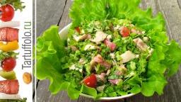Салат Зеленый с Курицей | Рецепт Алены Митрофановой