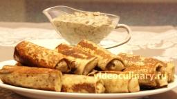 Блинчики с картошкой - Рецепт Бабушки Эммы