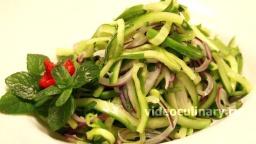 Пикантный салат из огурцов - Рецепт Бабушки Эммы