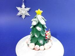 Украшения из мастики для торта | Новогодняя ёлочка_из_мастики