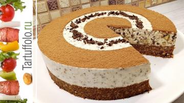Торт за 20 минут Без выпечки | Рецепт Алены Митрофановой