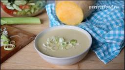 Суп-Пюре с картофелем и Тыквой